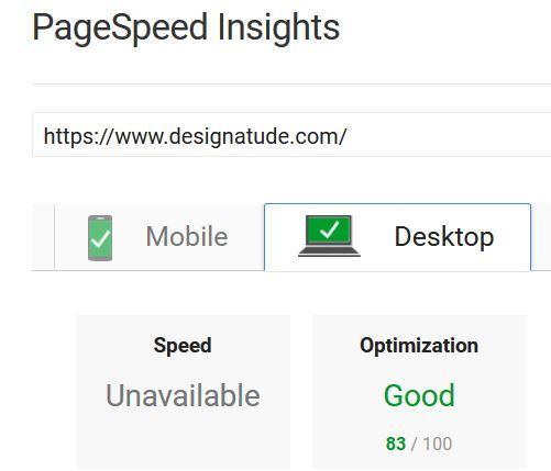 fast loading websites by Designatude Portland SEO